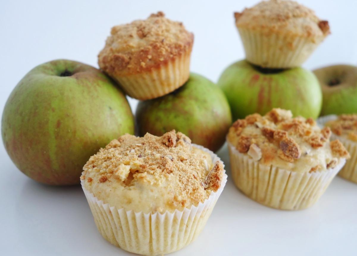 Apfel-Cantuccini-Muffins