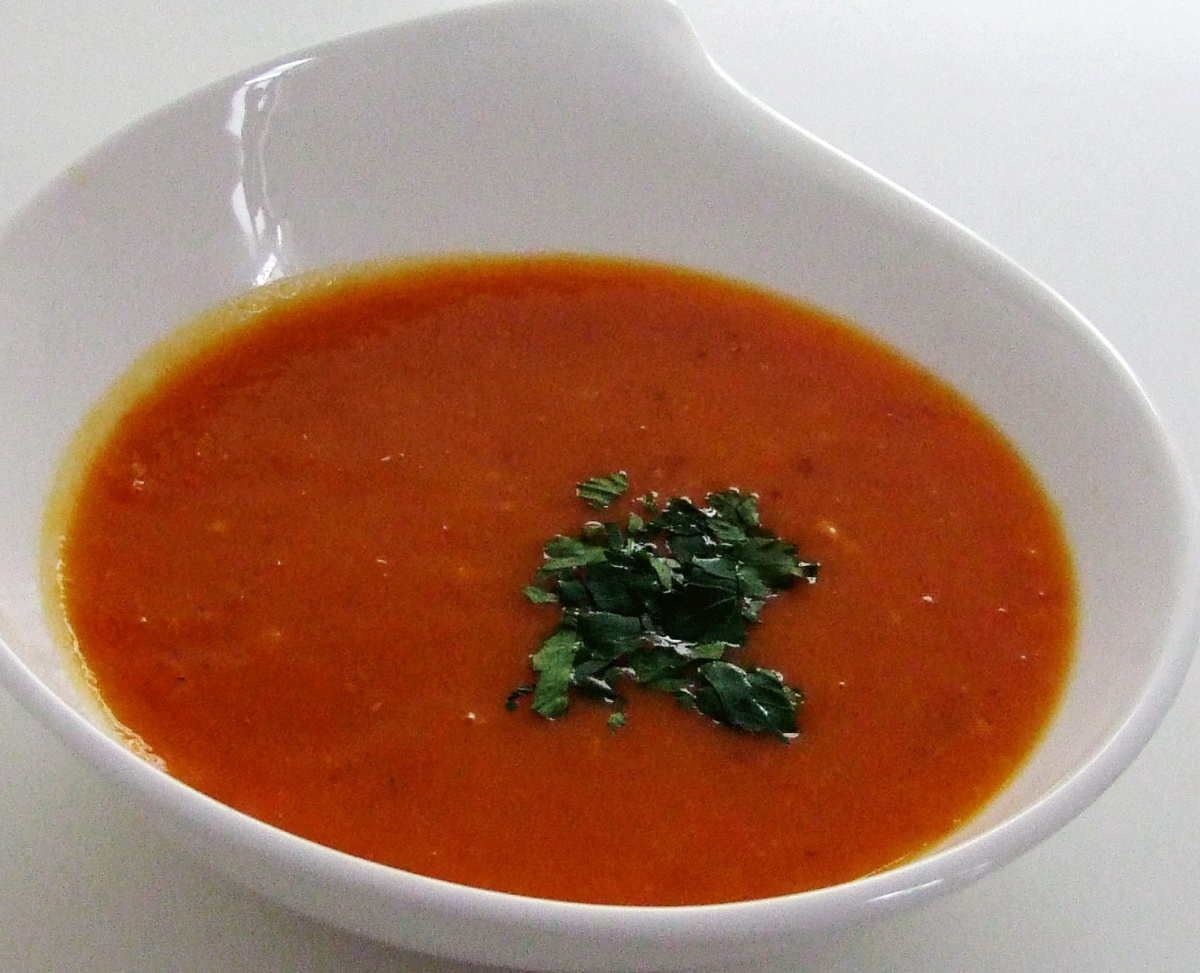 Spicy Kürbis-Gemüse-Suppe