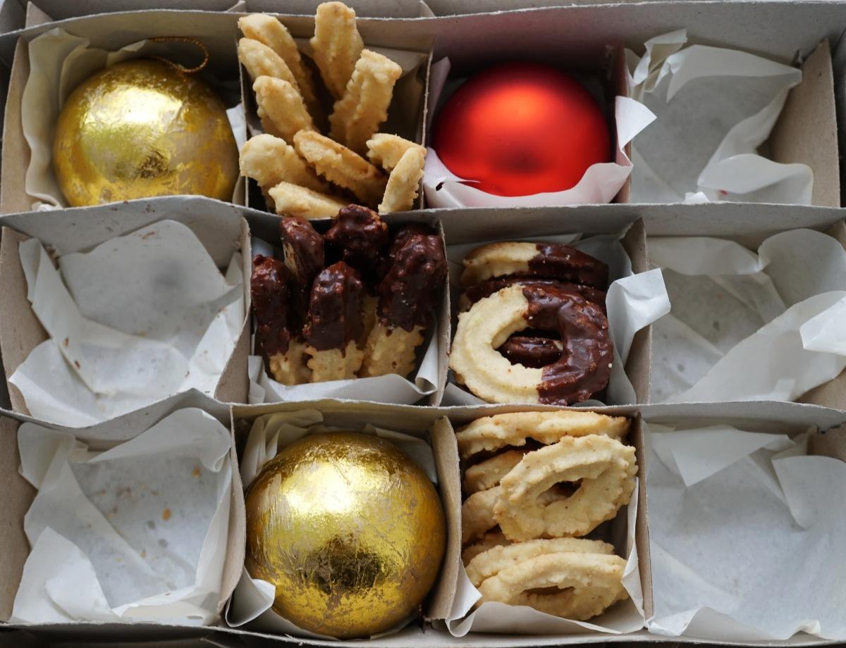 Ein Weihnachtsplätzchen-Klassiker: Spritzgebäck