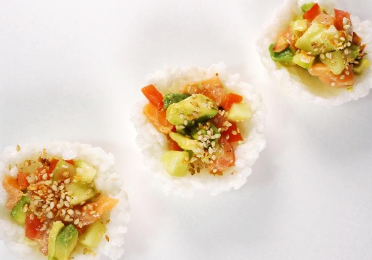 Sushi Muffins Sushi Cups Sushi Taler DSC05198b