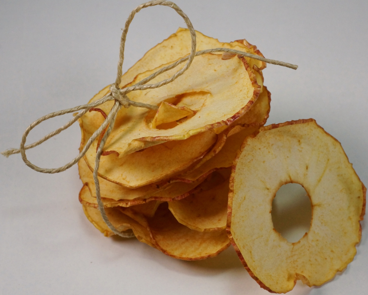 Apfel Chips – GetrockneteApfelringe