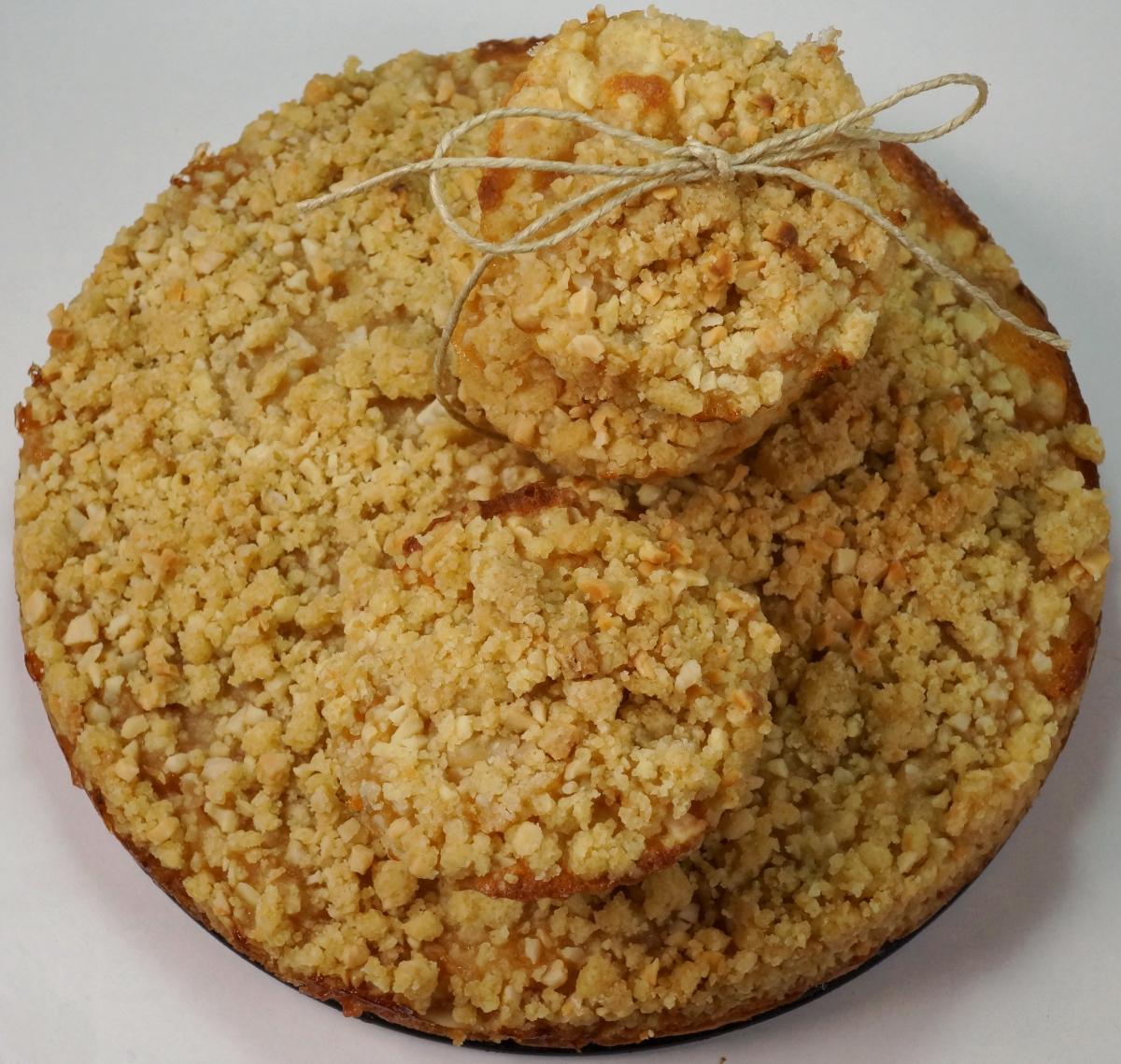 Apfelmus-Kuchen mit Mandelstreuseln – Apfelmus-Muffins