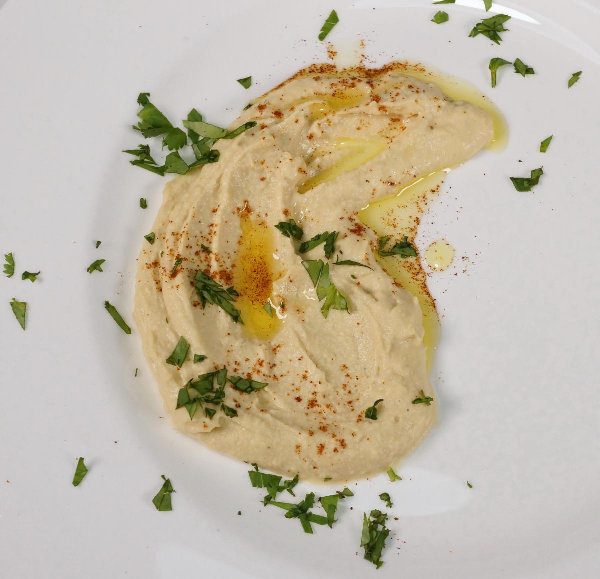 Hummus  – orientalisches Kichererbsenpüree