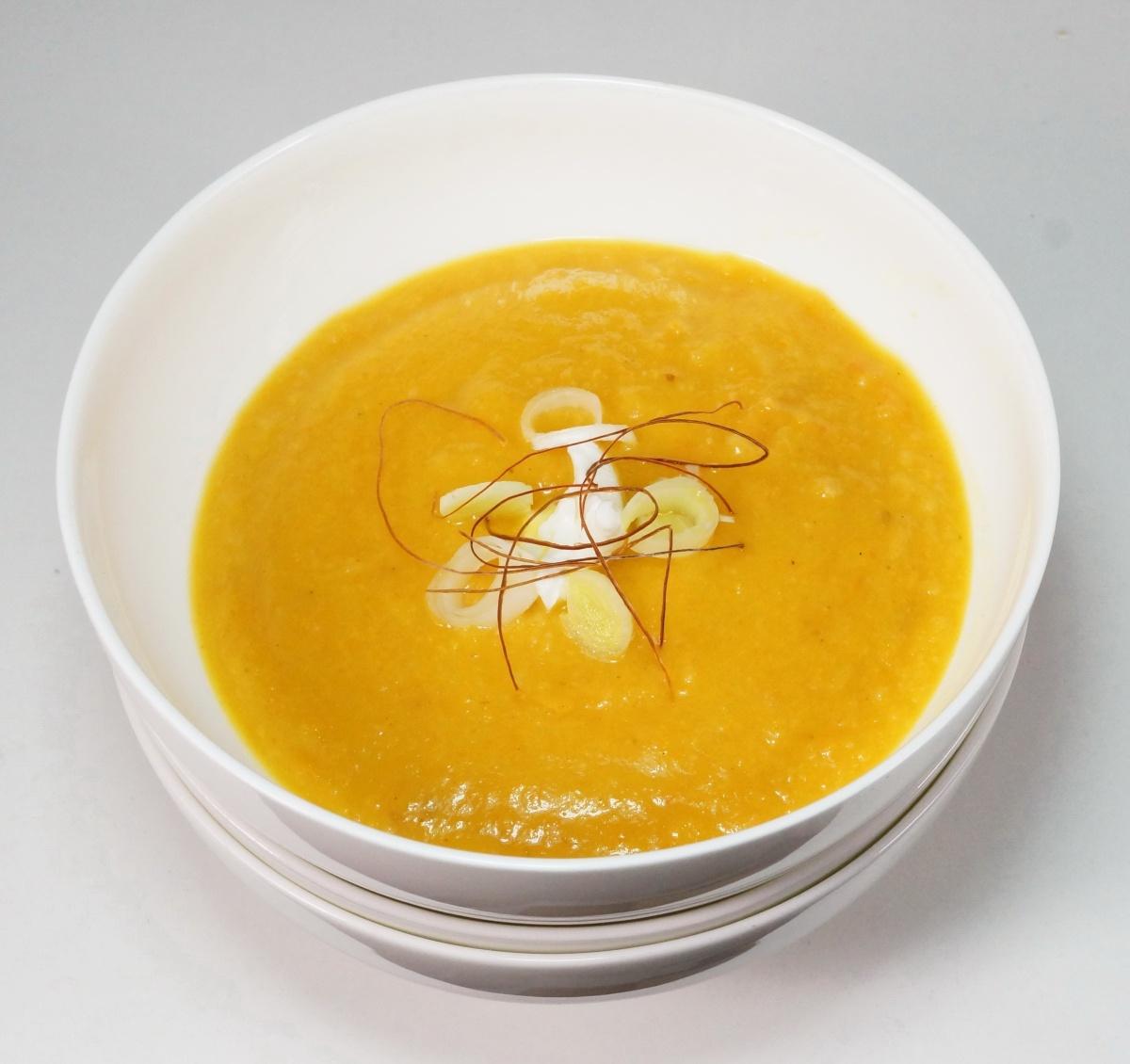 Asiatische Möhren-Quittensuppe – einHerbstrezept