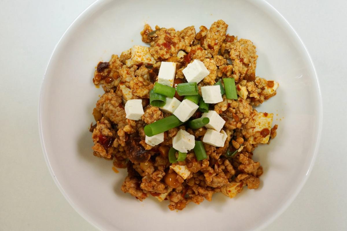 Mapo Tofu – suedchinesischer scharfer Tofu mitHackfleisch