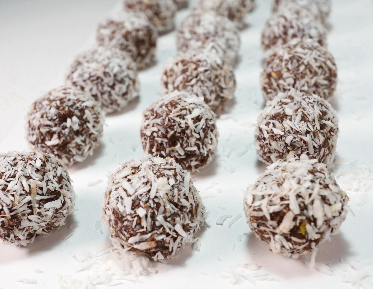 Chokladbollar – Schokoladenkugeln ausSchweden