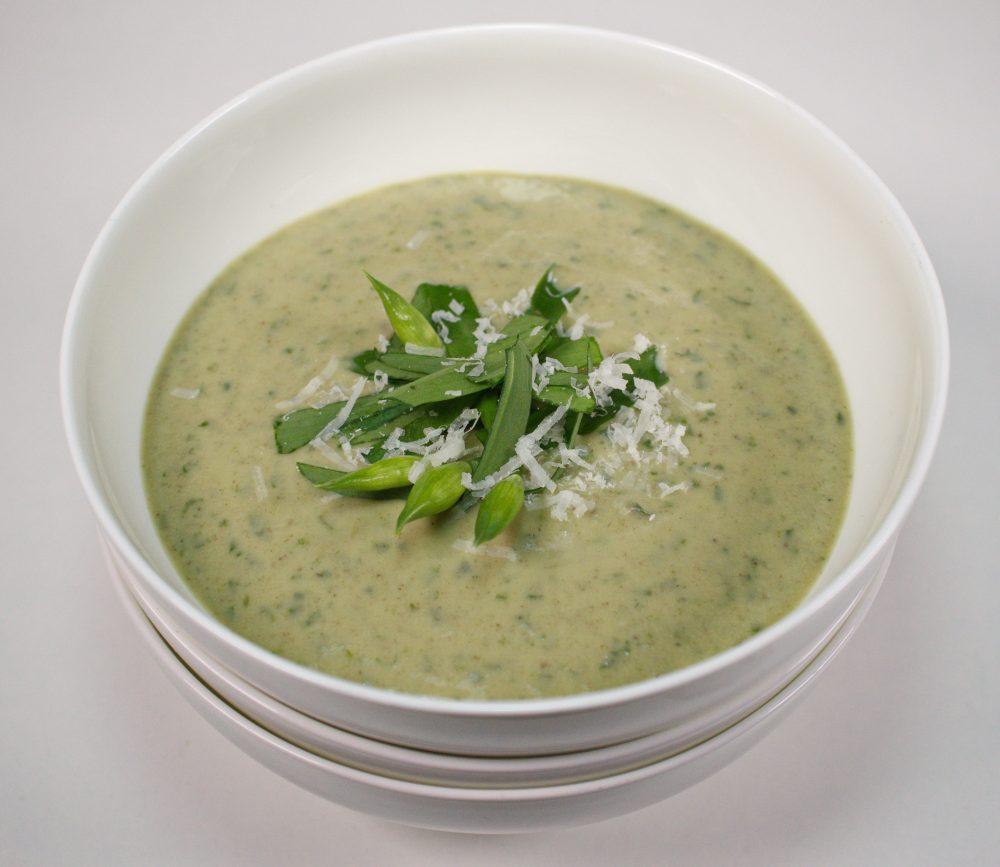 Wild & cremig: Kartoffel Bärlauch-Suppe